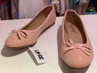 #12826 size: 36/37/38/39 Dirty pink color shoes