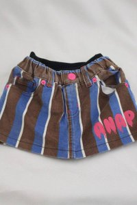 #3484 size:90(1-2 yrs)98% Cotton 2% spandex cord skirt with elastic waist