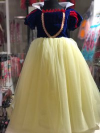 #8275 size 2-3/4-5/6-7/8-9yrs yellow party dress