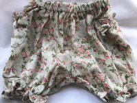 #8590 size : 18M/3/4/5yrs Full cotton Printed Floral green woven Shorts