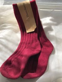 #9122 size:1-2/3-4/5-6yr Long red sock