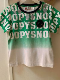 #11196 size : 2-3/4-5/5-6/7-8/9-10/10-12yrs Full Cotton Painting Tee