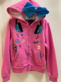 #12000 size : 4-5/6-7/7-8/10-12/14-16yrs pink hoodies