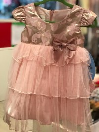 #9698 Size : 12M/18M Partly dress