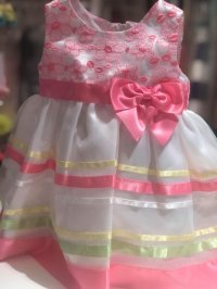 #3005 size:12M pink party dress