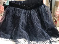 #7980 size: 13-14/15-16yrs Navy skirt