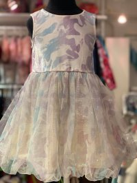 #11710 size 2/3/10-12/14-16yrs Puff party dress