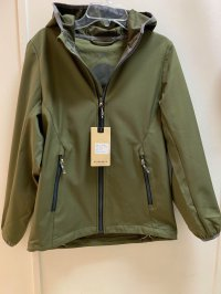 #11736 size: 152 (10-12 yrs) Army Green Waterproof Jacket