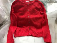 #9112 Size: 2-3/3-4/4-5yrs 100% Cotton Cardigan