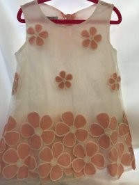 #8894 size:4-5 yrs Pink top