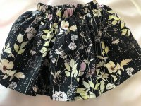 #9270 Size 1-2/3-4/5-6/6-7/7-8yrs black skirt