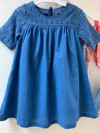 #12250 size : 3-4/5-6/6-7/9-10yrs blue dress