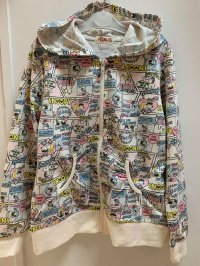 #11303 size: 8-9/10-11yrs Off white color Snoopy jacket