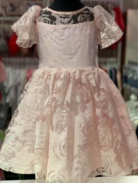 #10753 size : 3/5yrs pink party dress