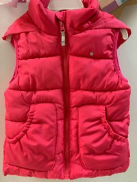 #13234 size: 2-3/4-5/6-7/7-8/9-10/11-12/ 13-14/15-16 yrs Tex fuchsia color vest