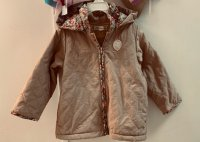 #11824 size: 4/6-7/8-9yrs Apricot color jacket