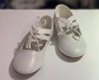 #12391 above5-9 yrs Girls white shoes