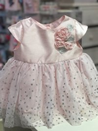#7936 size 24M/2Tyrs Cutie pink party dresss