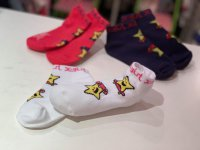 #11491 size 5-7/8-10/11-14yrs Girl's short socks