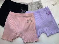#12979 size: 2-3/3-4/4-5/5-6/6-7/7-8/9-10/10-11yrs 95%cotton girls panty