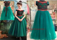 #11296 size: 2-3/4-5/6-7/8-9/10-11 yrs Princess Dress