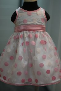 #0695 size:12M/24M pink party dress