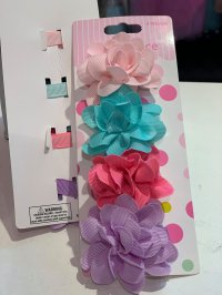 #11857 Rolled Flower Hairclip