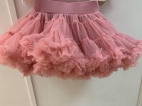 #12097 Size: 2-3/6-7yrs Pink color tutu skirt