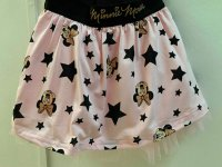 #10741 Size 2/3yrs Pink color minnie star pattern skirt