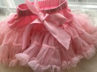 #7986 size : 1-2/3-4/5-6/yrs pink tutu skirt