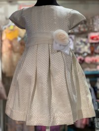 #10948 size: 4/6/7 yrs Blanchedalmond Party Dress