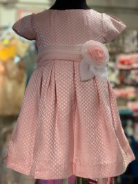 #10949 size: 2/3/4/5/7/8 yrs Pink Party Dress