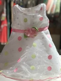#8320 Size : 12/18/24M pink party dress