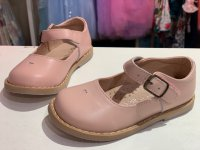 #11625 Pink Leather Shoes (fit for 2-8 yrs)