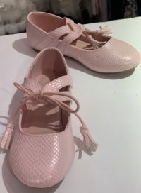#12390 size: above5-9歲 Girls pink shoes