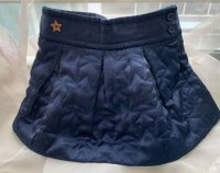 #11355 size: 2/3/4/5-6/9-10/11-12/13-14 yrs Navy Skirt