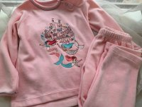 #10284 size 2/2-3yrs Girls pink set