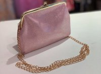 #11276 Glitter Pink color party bag